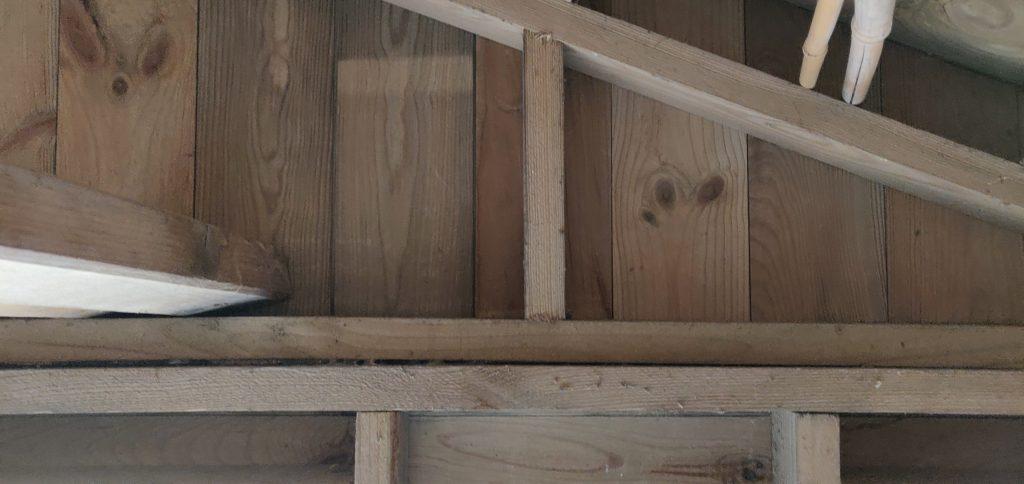 Punt stuk van het dak